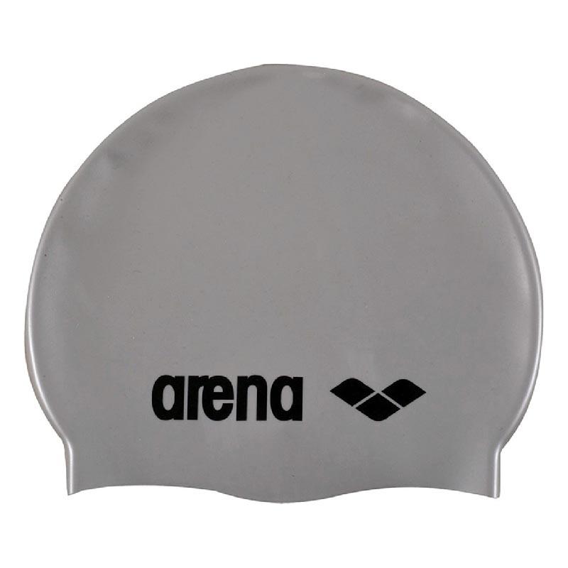 BONNET ARENA CLASSIC SILICONE ARGENT