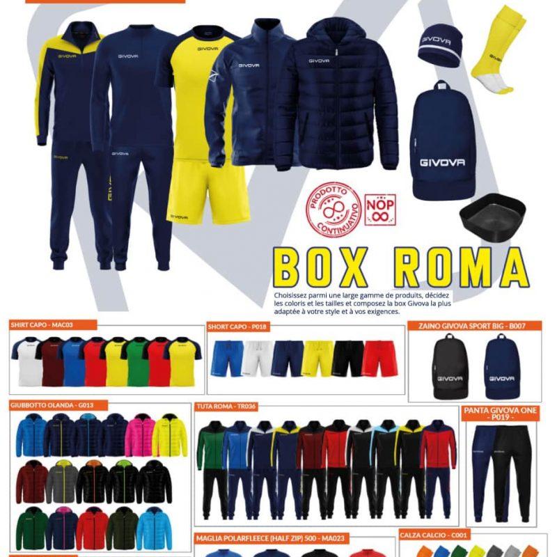 Box Givova Roma